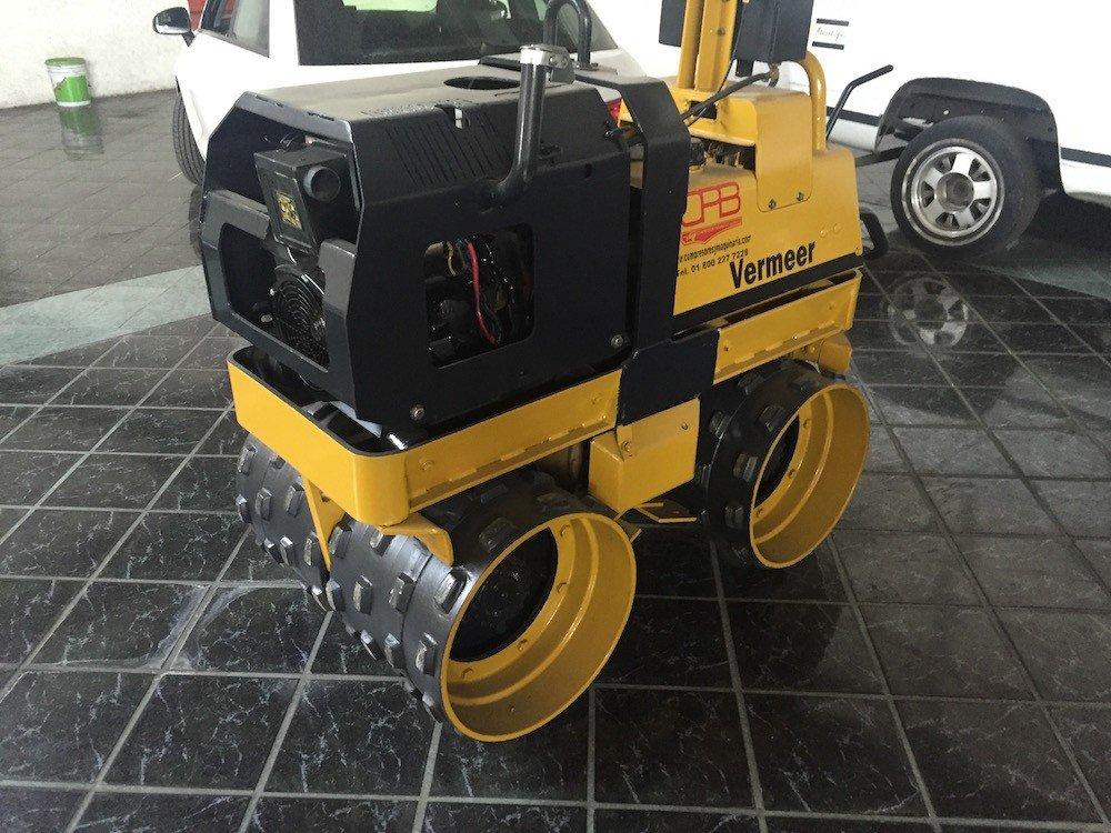 Rodillo compactador vermeer 2
