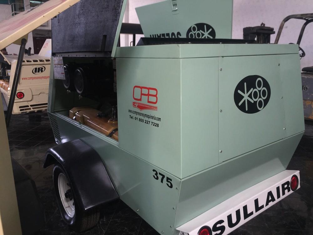 Sullair compresores de 375pcm 5