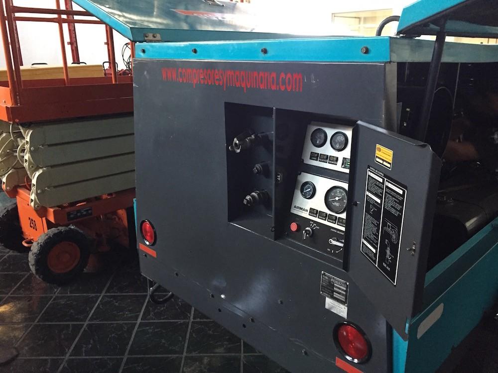 Compresores 375 pcm Airman 4