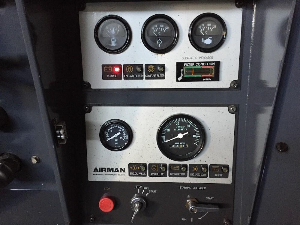 Compresores 375 pcm Airman 5
