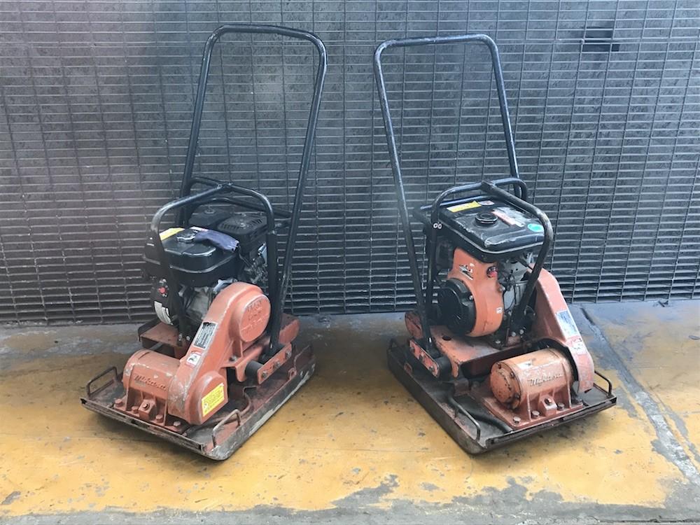 tenemos placas vibratorias para aplanado y pavimentación listas para entrega inmediata